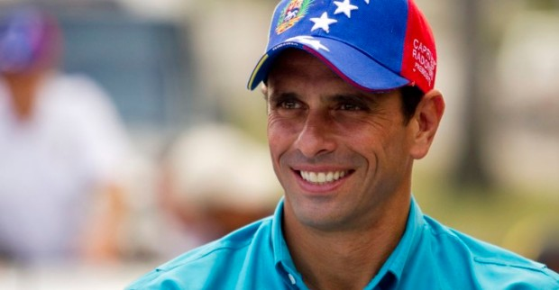Venezuela's opposition presidential candidate Henrique Capriles attends a campaign rally in San Felipe in the state of Yaracuy September 26, 2012. REUTERS/Carlos Garcia Rawlins (VENEZUELA - Tags: POLITICS HEADSHOT PROFILE ELECTIONS)