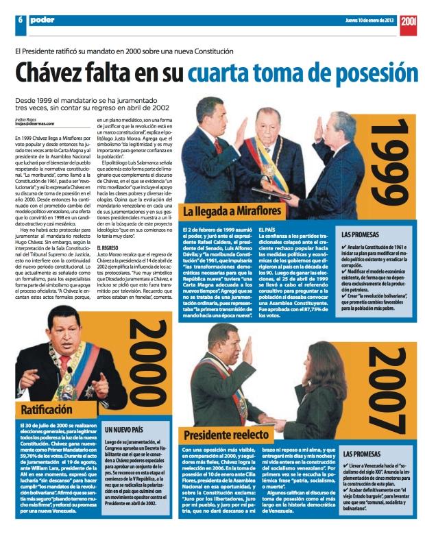 Entrevista a Justo Morao por Indira Rojas / Diario 2001/ Enero 10 de 2013