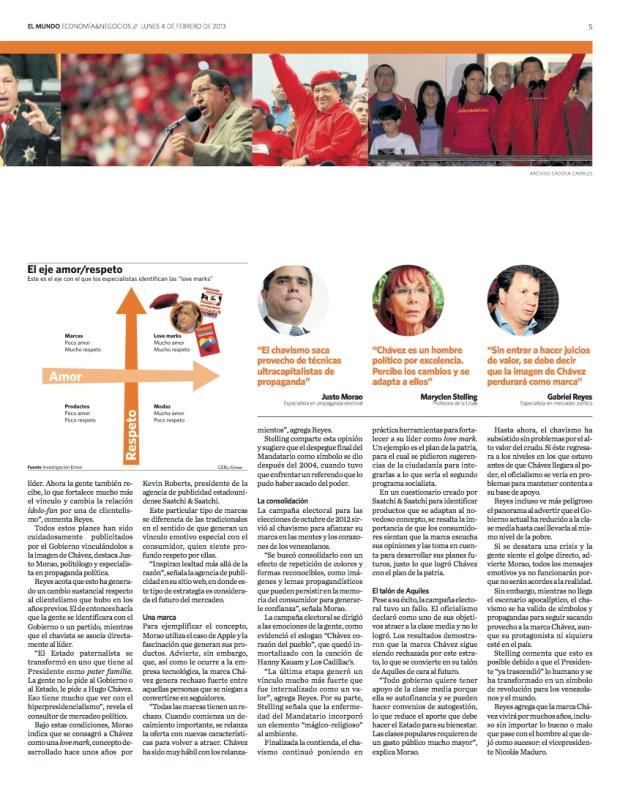 Entrevista de Franz von Bergen a Justo Morao / Diario El Mundo / 4 de febrero de 2013 - página 2-