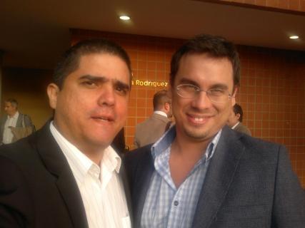Justo Morao y Miguel Martínez Meucci