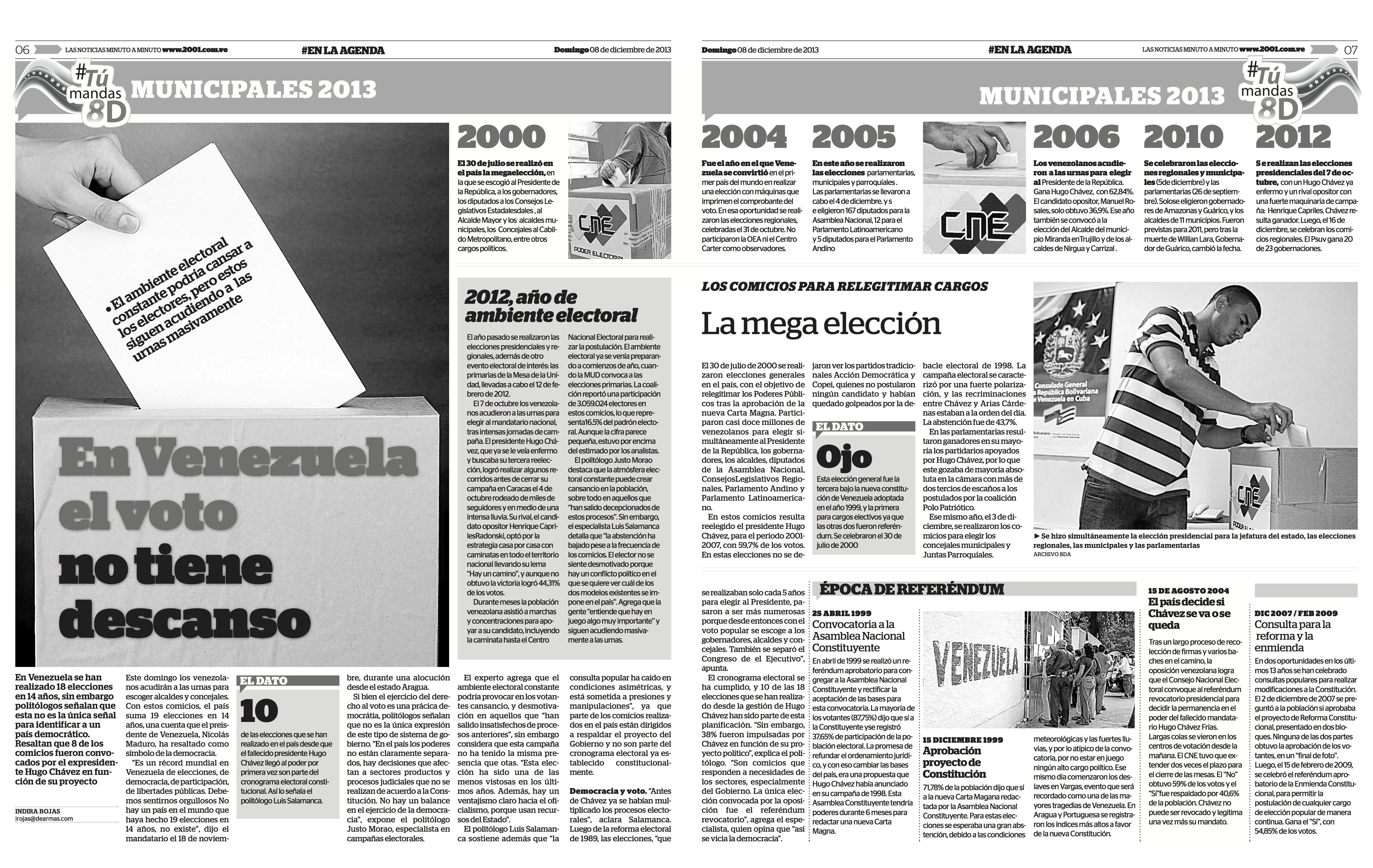 Diario 2001 venezuela