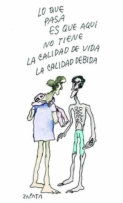 Última caricatura de Zapara - 6 de febrero de 2015