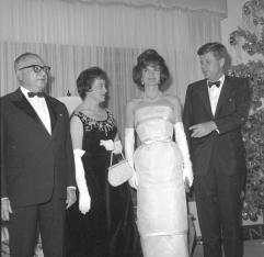 Betancourt y Kennedy 1961