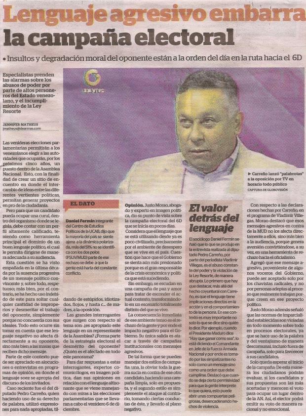 Lenguaje agresivo embarra la campaña electoral - Diario 2001