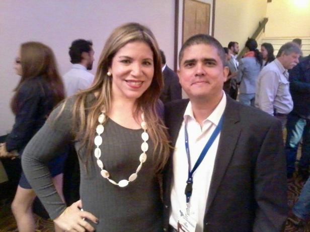 Laura Castellanos y Justo Morao