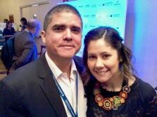 Justo Morao y Marianna Gómez