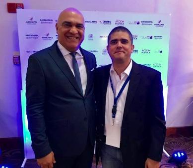 Luis Toty Medina y Justo Morao